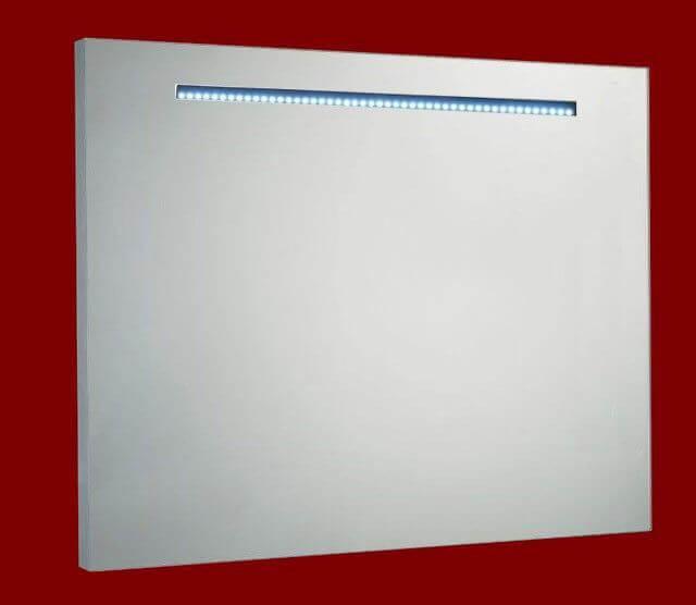 Aluminium spiegel met LED verlichting 100 met spiegelverwarming ...