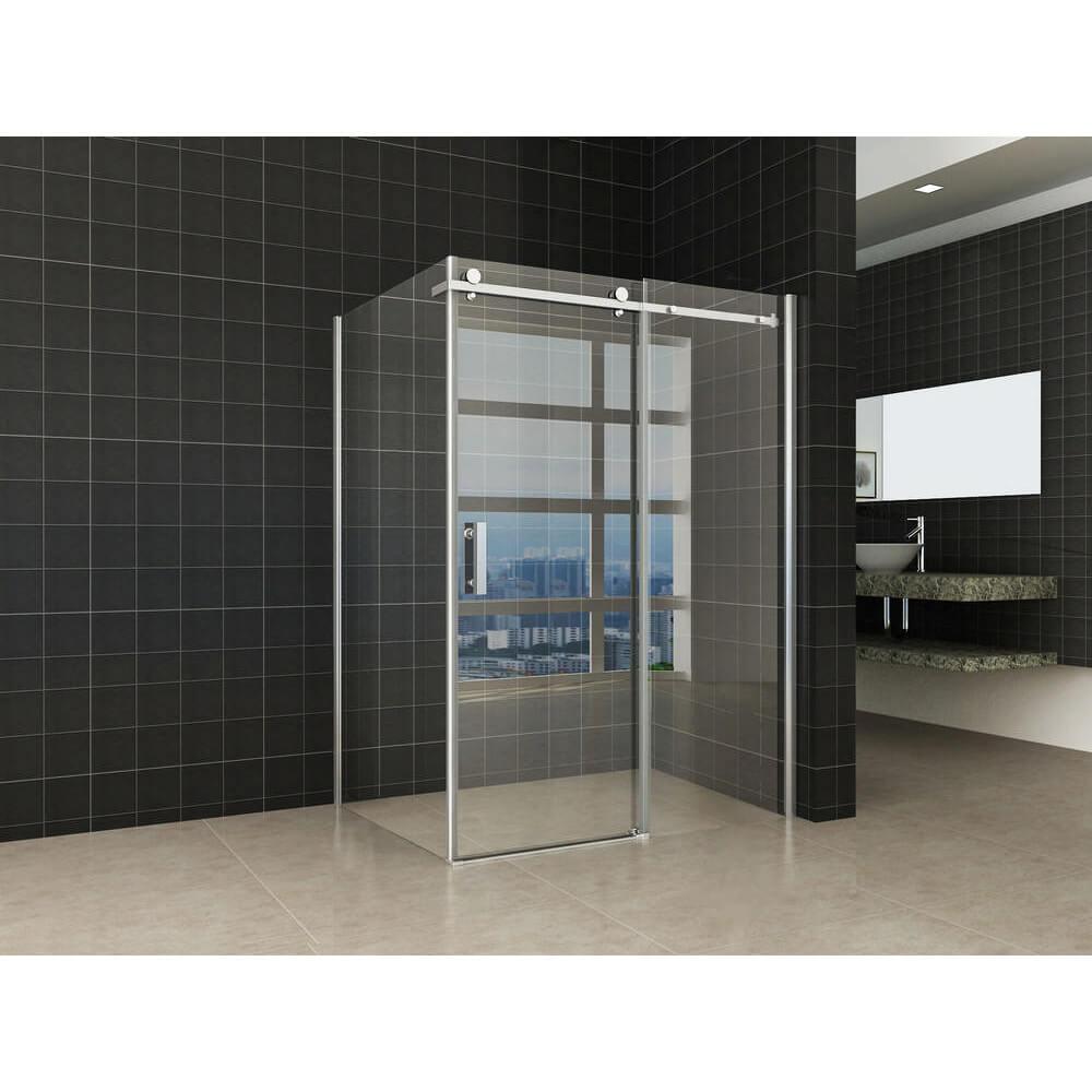Douchecabine 140 X 100.Badkamer Factory Online Shop Douchecabine Inloop Block