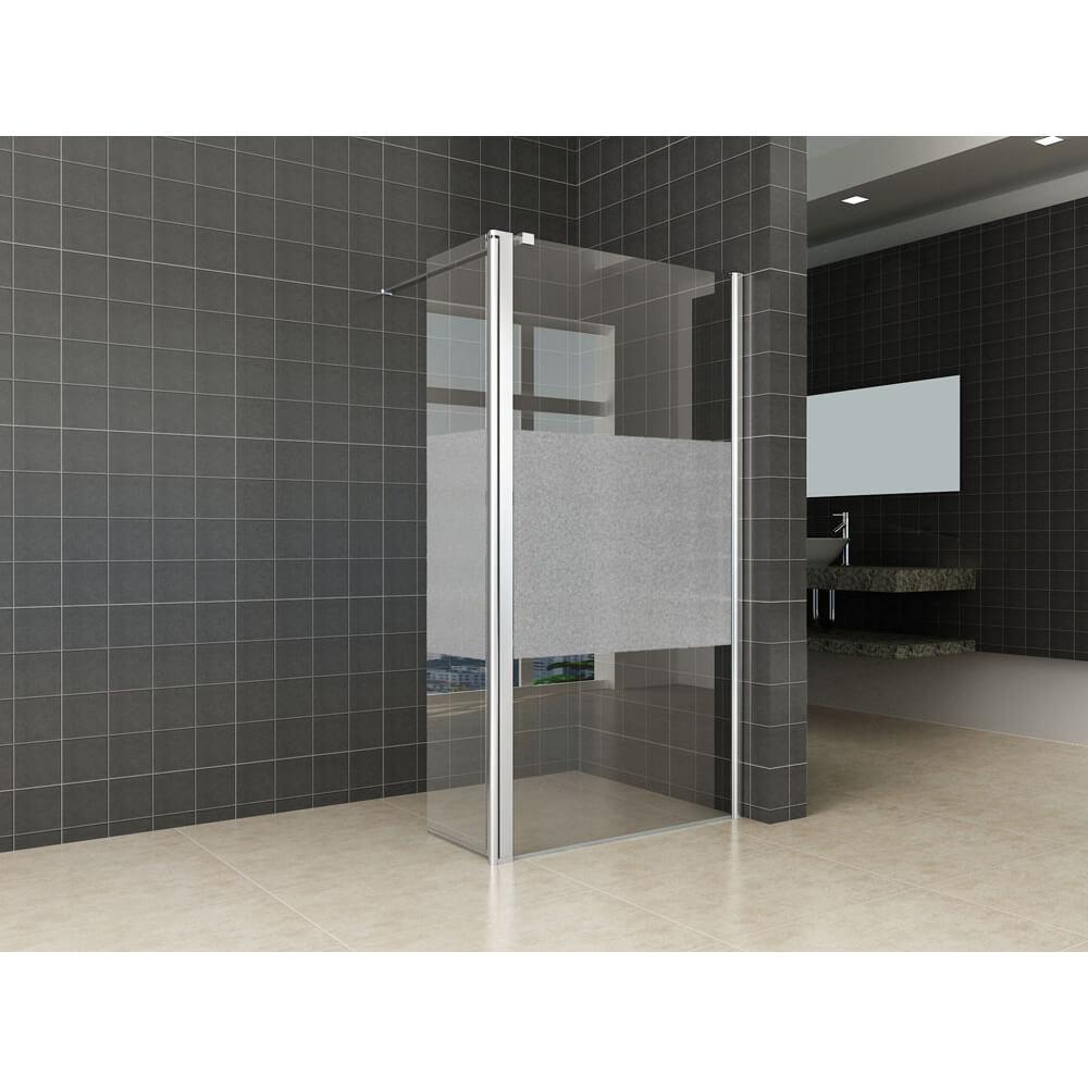 Badkamer Factory online shop | Zijwand voor bad en douche Partly ...