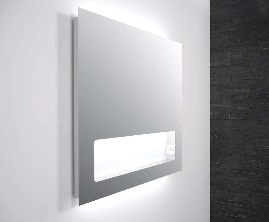 Verlichting Spiegel Badkamer : Badkamer factory online shop ink spiegel met geintegreerd