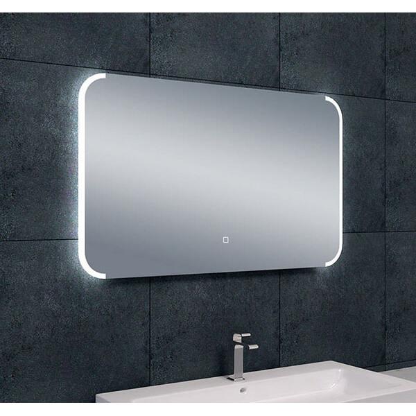 Badkamer Spiegel Met Verwarming En Verlichting.Spiegel Bracket Spiegel Met Led Verlichting Verwarming 100 X 60 Cm