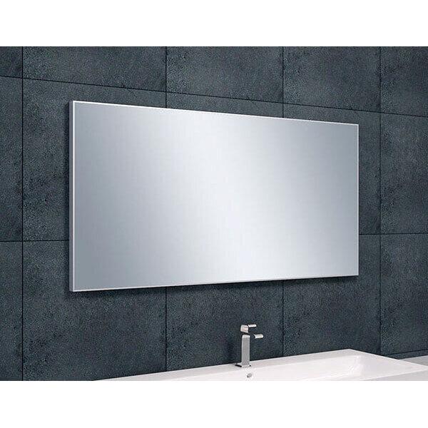 Spiegel Met Lijst.Spiegel Edge Spiegel Met Aluminium Lijst 120 X 60 Cm