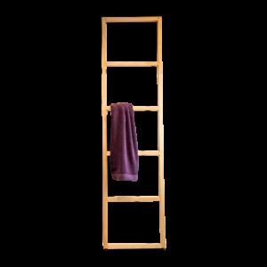 WO HTLB WOOD Towel ladder-badkamerfactory