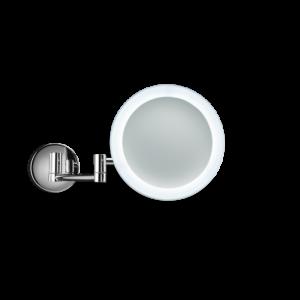 BS 60/V Cosmetic mirror illuminated - 5x magnification-badkamerfactory