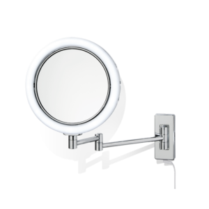 BS 13  Cosmetic mirror illuminated - 5x magnification-badkamerfactory