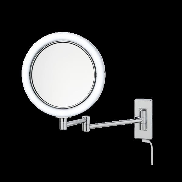 BS 13  Cosmetic mirror illuminated - 5x magnification-badkamerfactory
