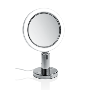 BS 12/V Cosmetic mirror illuminated - 7x magnification-badkamerfactory
