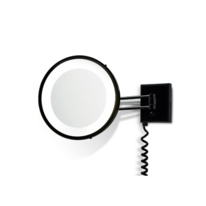 BS 25 PL Cosmetic mirror illuminated - 3x magnification-badkamerfactory