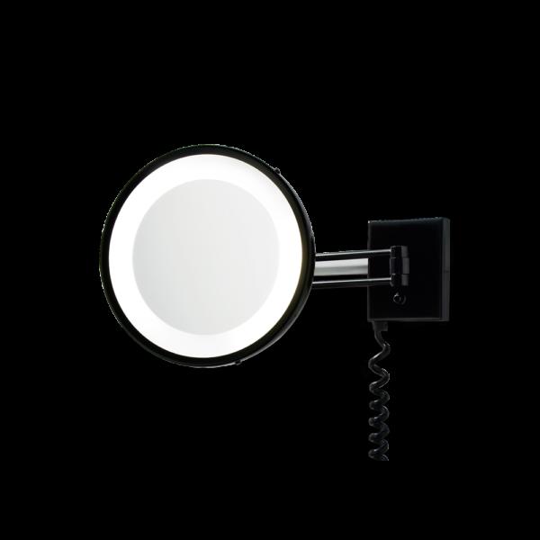 BS 25 PL Cosmetic mirror illuminated - 3x magnification-badkamerfactory