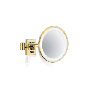 BS 40 PL/V Cosmetic mirror illuminated - 5x magnification-badkamerfactory