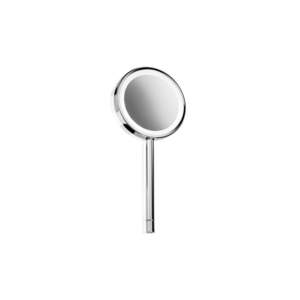 BS 7 Hand cosmetic mirror illuminated - 5x magnification-badkamerfactory