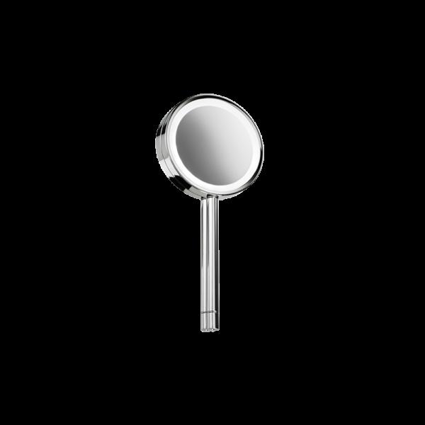 BS 7 Hand cosmetic mirror illuminated - 5x magnification-badkamerfactory