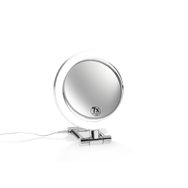 BS 11  Cosmetic mirror illuminated - 3x/7x magnification-badkamerfactory