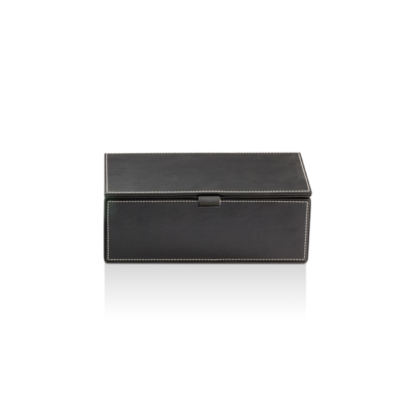BROWNIE BMD2 Box big with cover - artificial leather-badkamerfactory