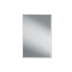 SPACE 14060 Mirror 40x60 cm Facet 10 mm clear-badkamerfactory