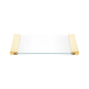 TAB 34 Tray small - clear glass - Glass Super Clear-badkamerfactory