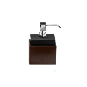 BROWNIE SSP Soap dispenser - artificial leather