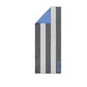 CAWÖ-Sauna laken-80x200 cm-Grijs