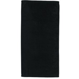 CAWÖ-Handdoek-50x100 cm-Zwart