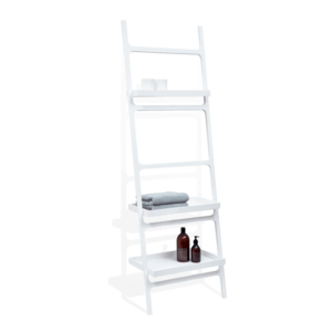 STONE HTLA Towel ladder - with 3 shelves-badkamerfactory