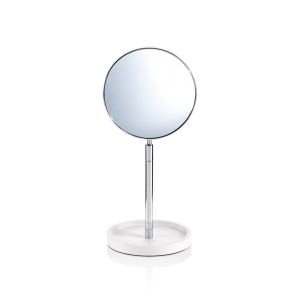 STONE KSA Cosmetic mirror with shelf - 1-/4-x magnification-badkamerfactory