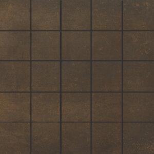Douglas & Jones Metal Corten Mozaïektegels 30x30cm