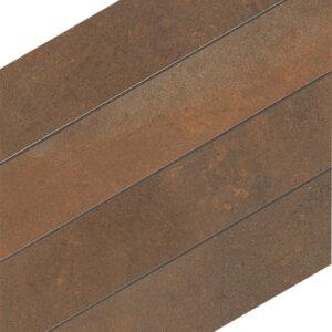 Douglas & Jones Metal Corten Mozaïektegels 29x34cm