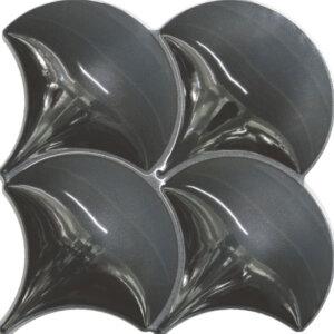 Douglas & Jones Vintage Black Tegelstroken 21x21cm