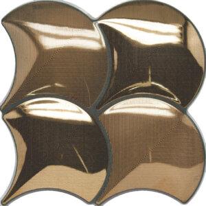 Douglas & Jones Vintage Gold Tegelstroken 21x21cm