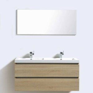 X-Line Badmeubel Light Wood 120 Cm | Badmeubelsets