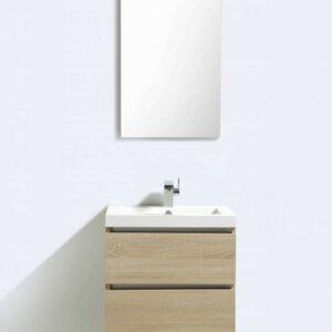 X-Line Badmeubel Light Wood 60 Cm | Badmeubelsets