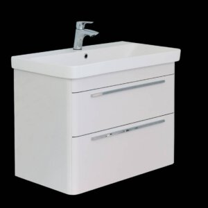 ADW Design Badmeubel Moby 50 Cm Glans-Wit   Badmeubelsets