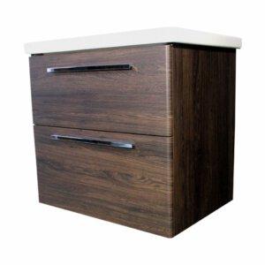 ADW Design Badmeubel Winner 800 Mm Oak Dark Brown | Badmeubelsets
